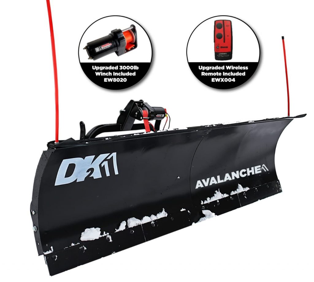 best snow plow for a jeep wrangler